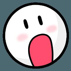 [1] 顔表情ステッカー