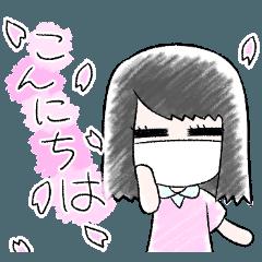 ゆるふわマスク系女子naru ~季節編~