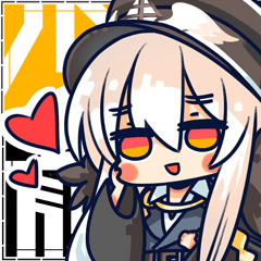 """""""Girls' Frontline"""" official emoticon"""