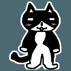 パンダな色のニュートラルな猫 Rev.2
