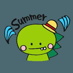 Dinosaur and animals - summer ver