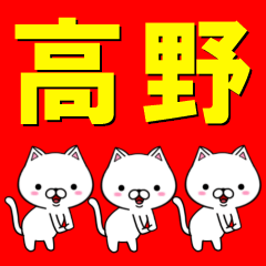超★高野(たかの・タカノ)なネコ