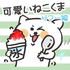 可愛いねこくま(夏編)
