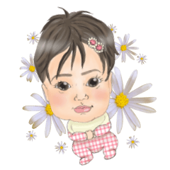 yuzuki's daily sticker