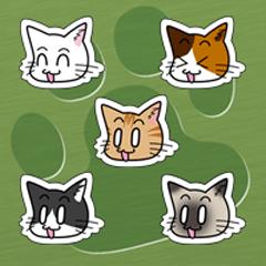 にゃんこだにゃんこ にゃんこ5種猫セット