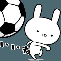 サッカー好きの為のスタンプ☆6☆軽~い編