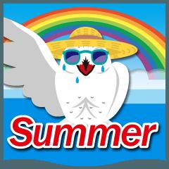 梅雨&夏に使える〜白福籠(シロフクロウ)
