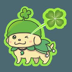 四つ葉の子犬