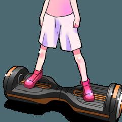 立ち乗りスクーター(車バイクシリーズ)