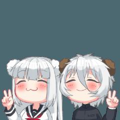 双子のくまさん
