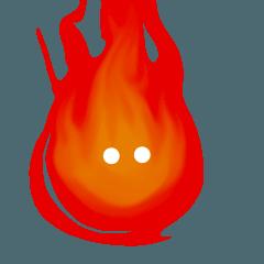 火の玉くんスタンプ