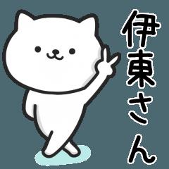 伊東さんが使うネコ