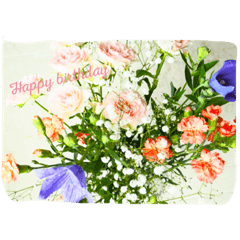Text in flowers 2