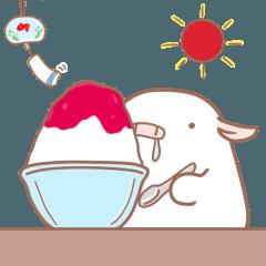 ぶたぽん 夏(イベント、天気、海)