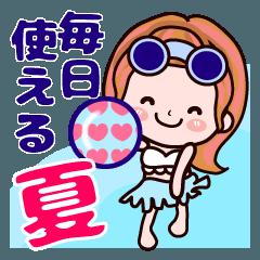 【夏から残暑】かずこちゃん♥毎日使える!
