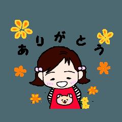 花ちゃん3さいの日常2