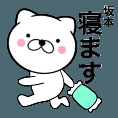 【坂本】が使う主婦が作ったデカ文字ネコ