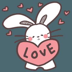 Super Duper Cute Rabbit