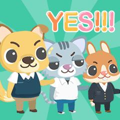 School Fight (Animated Sticker)