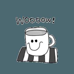 モノクロなaloha cafe