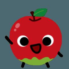 りんごのアップルくん