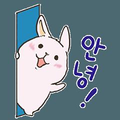 韓国語でひとことウサっこ